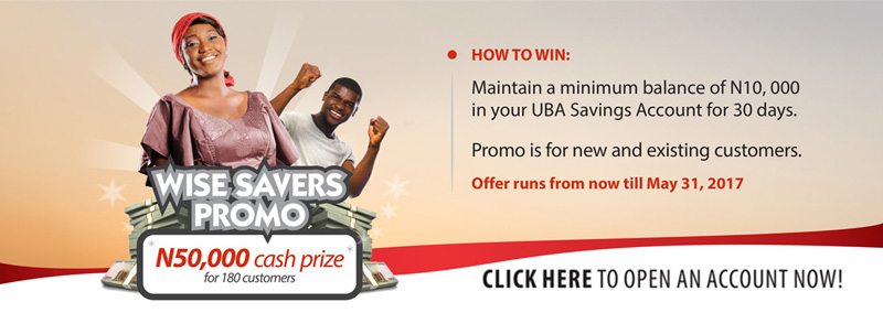 UBA Wise Savers Account