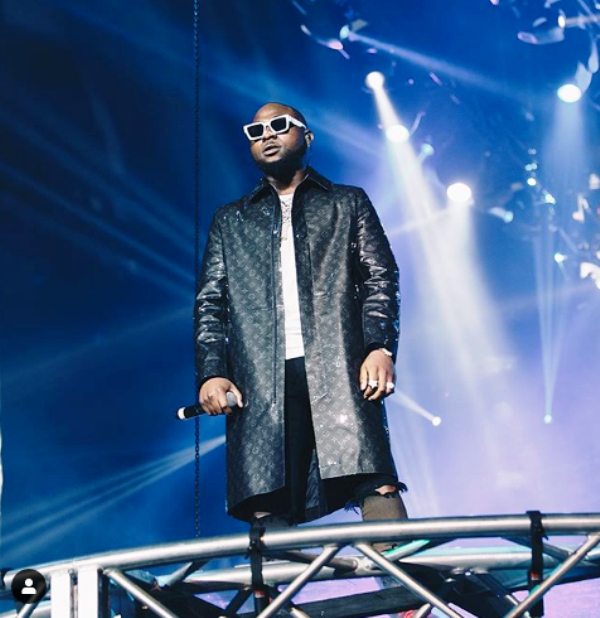 YES IT HAPPENED! 02 CONFIRMS CLAIM TO SECRET REPORTERS THAT DAVIDO'S CONCERT AT THEIR ARENA WAS SOLD OUT CONTRARY TO CLAIMS THAT IT WASN'T
