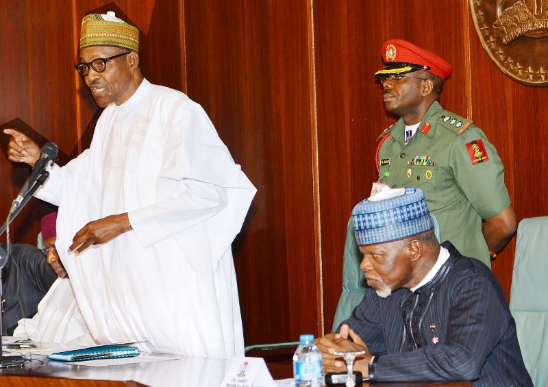 GO BACK TO YOUR COWS IN DAURA AND DON'T CONTEST, CUSTOM BOSS HAMEED ALI TELLS BUHARI BUT…